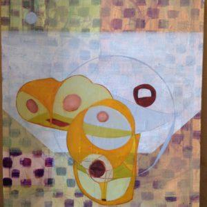 Acrylics abstract